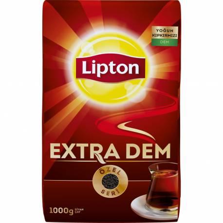 Lipton Extra Dem Fire red brew Black Tea