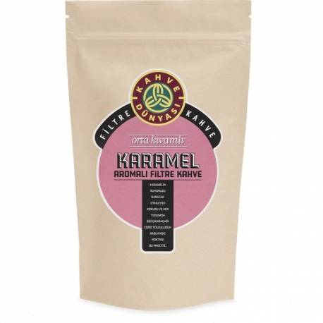 Kahve Dunyasi Caramel Filter Coffee 250Gr