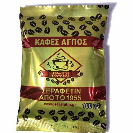 Haci Serafettin Komotini Turkish Coffee 100g