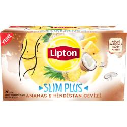 Lipton Slim Plus Mixed Herbal Tea with Pineapple and Coconut