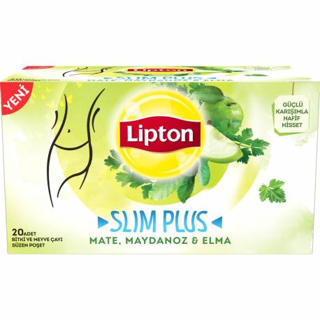 Lipton Slim Plus Mixed Herbal Tea with Apple and Parsley