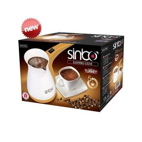 Sinbo Greek Turkish Coffee Maker Electric Cezve