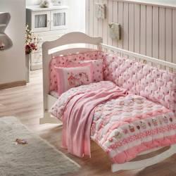 Crown Ranforce Sweet Bird Baby Sleep Set with Blankets