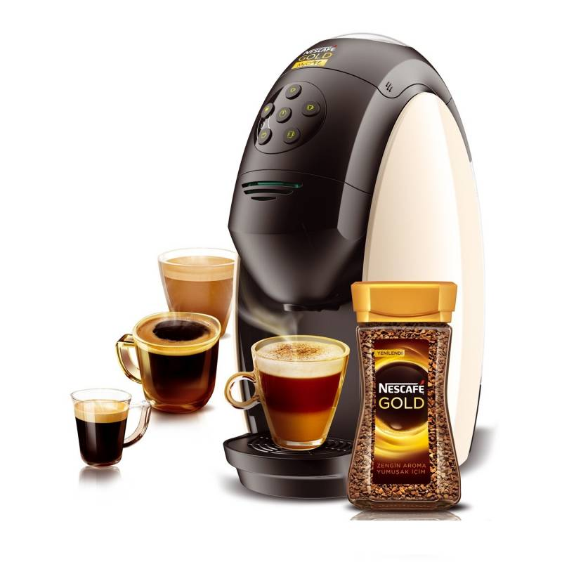 Nescafe MyCafe Gold ,Cappuccino, Latte, Sparkling Coffee