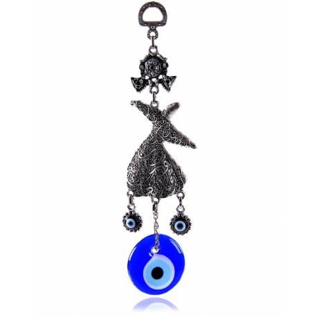 Whirling Dervish Figured, Evil Eye for Door /Wall