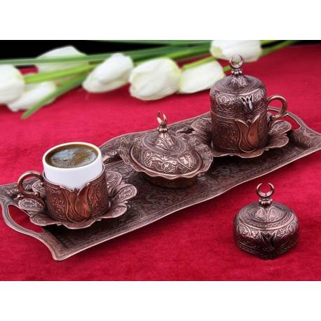Lalezar Authentic Coffee cup Set