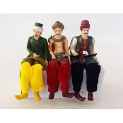 3 pieces Ottoman Figurine Set