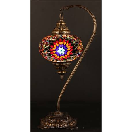 Glass Mosaic Table Top Lamp (Model8)