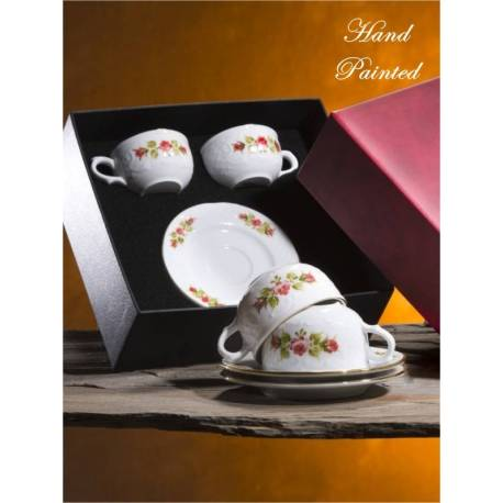 Sultan Hand Painted Double Coffee Set