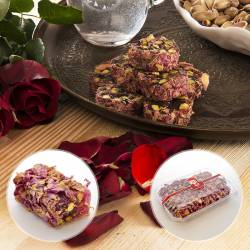 Double Roasted Turkish Delight with Pistachio and Rose Petals