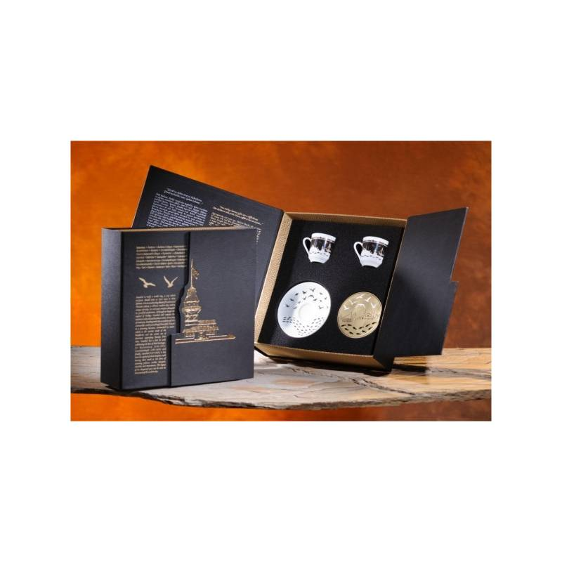 istanbul design coffee cup gift set