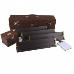 Elite Leather Rummy Set