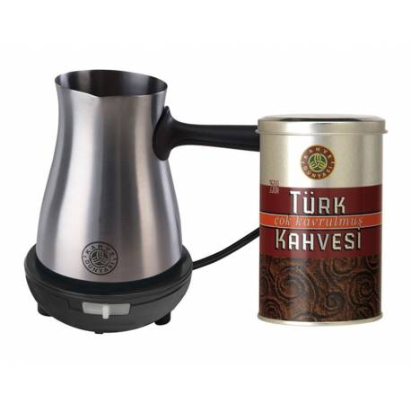 Electric coffee pot, with coffee Gift